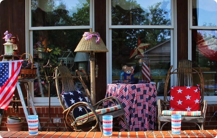 4th of July Porch 2