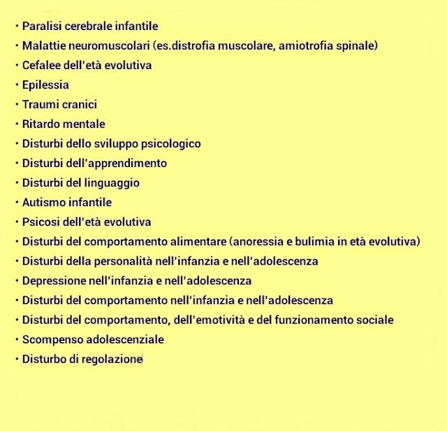 servizi di neuropsichiatria infantile Centro Amamente