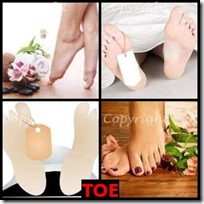 TOE- 4 Pics 1 Word Answers 3 Letters