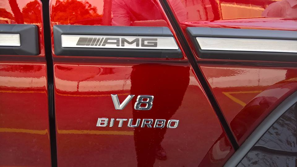 xe Mercedes Benz G63 AMG All New màu đỏ 07