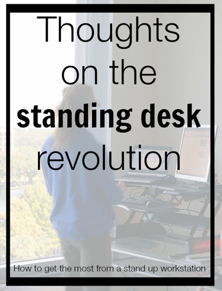 How to get the most from a stand up desk