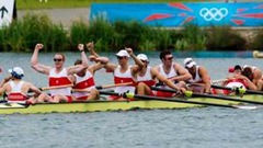 Canada's Mens Rowers