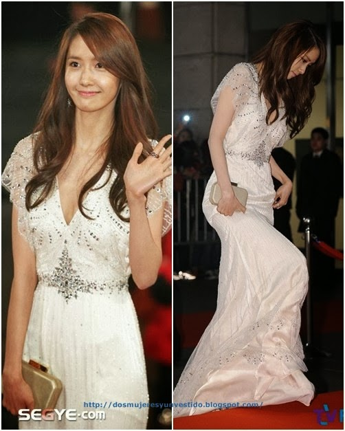 Im Yoona walked the red carpet of the 2013 KBS Drama Awards