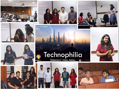 Technophilia moving forward with technology 35 teams with 2 members in each