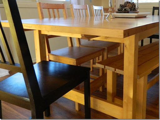 Fancy simple IKEA table update that takes this boring table into a charming cottage style