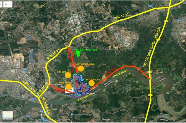 Nam Long chuẩn bị triển khai dự án Dong Nai Waterfront City 1