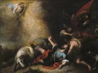 The Conversion of Saint Paul Bartolome Esteban Murillo, 1675-1682, Museo del Prado