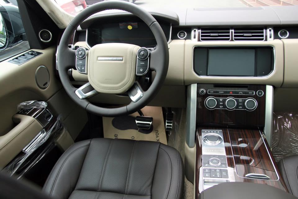 Nội thất xe Range Rover Vogue 03
