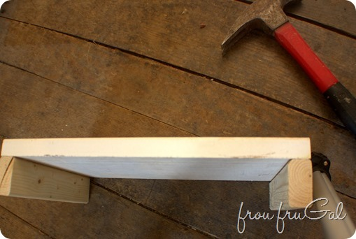 Building a Narrow Shelf