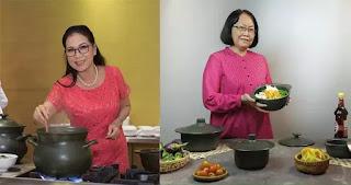 Nghệ sĩ kịch nói Kim Xuân & nghệ nhân ẩm thực Bùi Thị Sương, 2 gương mặt đại diện mới của Gốm sứ Minh Long.