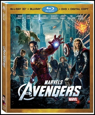 Avengers 4-disc Box art