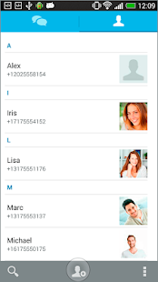 SQURE messenger - screenshot thumbnail