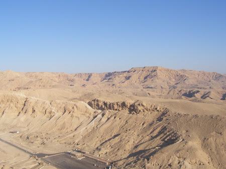 Imagini Egipt: Valea Regilor din balon