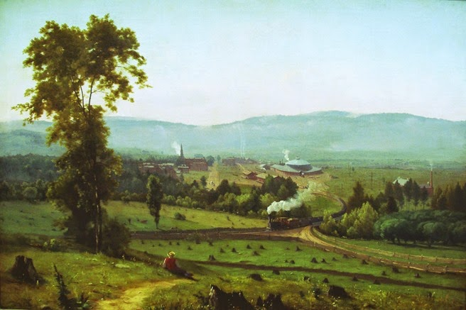 George Inness - the lackawana valley
