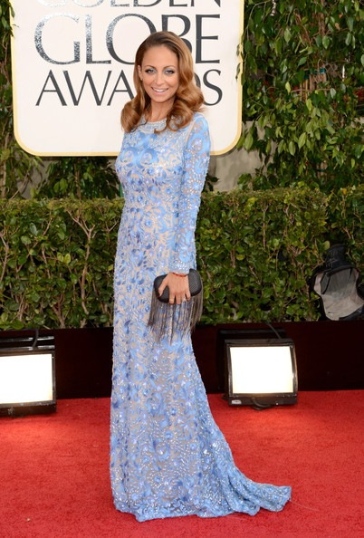 Nicole Richie arrives at the 70th Annual Golden Globe Awards
