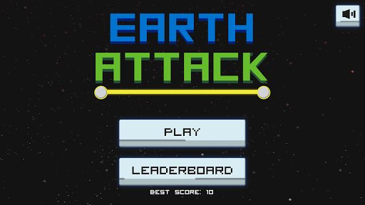 Earth Attack Vintage Game