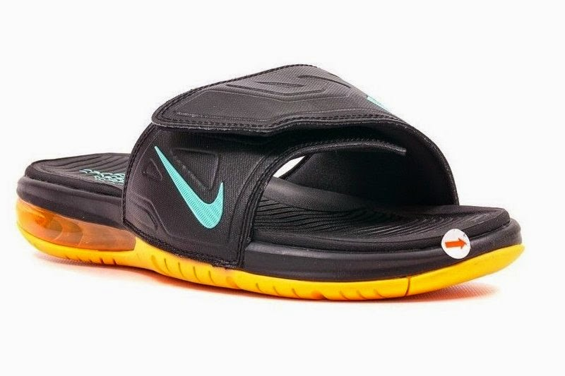 newest 518e4 e7bba authentic lebron air max slides 1 30a3f f6294
