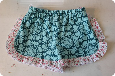 Ruffled Shorts Tutorial