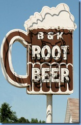 3958 Ohio - Van Wert, OH - Lincoln Highway (Main St)(I-30 Business) - circa 1955 B & K Root Beer Stand