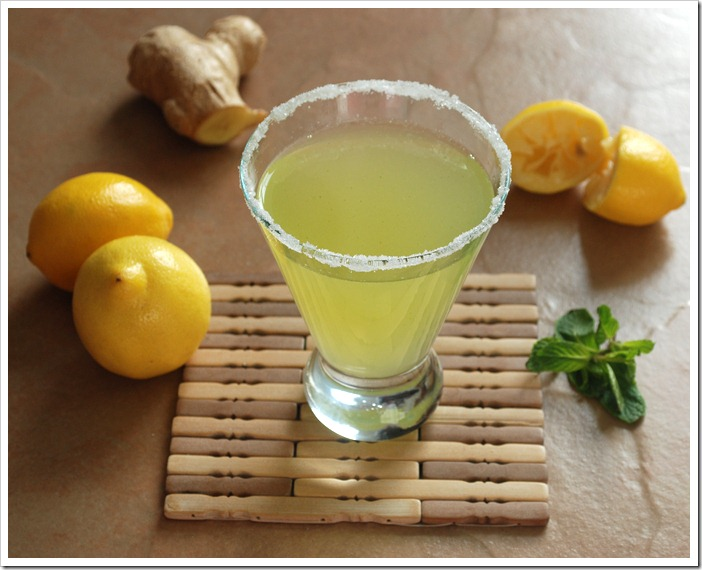 Minty Lemon Juice