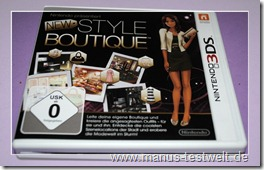 Style Boutique Nintendo Cover ab 0 Jahre FSK