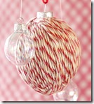 Yarn covered Christmas Ball cg