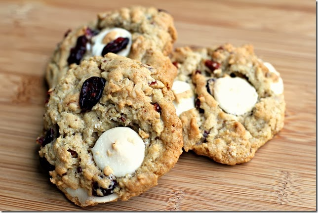 Cranberry White Chocolate Cookies3