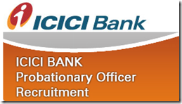 icici bank po Recruitment 2017