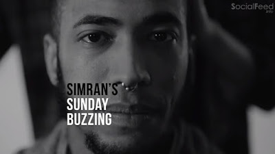 James's girlfriend Simran keeps his buzz cut buzzing