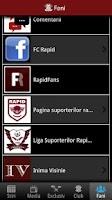Screenshot of FC Rapid Bucuresti Oficial