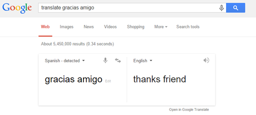 Google Translation