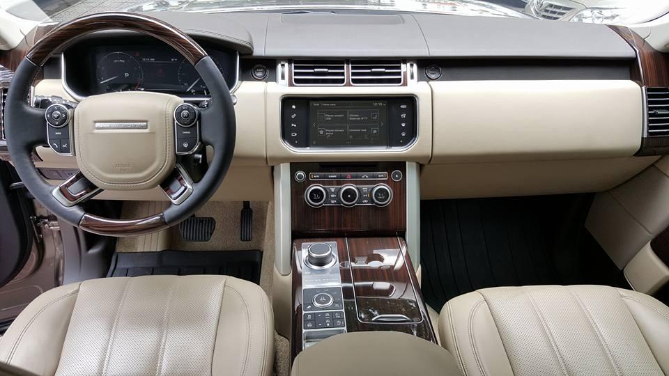 Nội thất xe Range Rover HSE 01