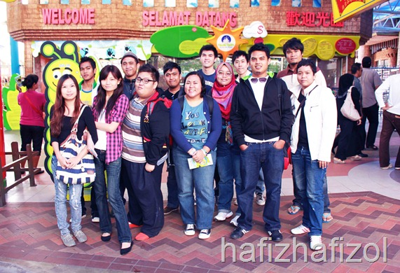 Trip to Genting Theme Park with Nuffnangers