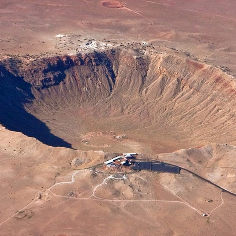 The Incredible Barringer Meteor Crater of Arizona