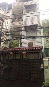 Bán nhà 1 trệt 3 lầu hẻm 710 Lũy Bán Bích Quận Tân Phú.2
