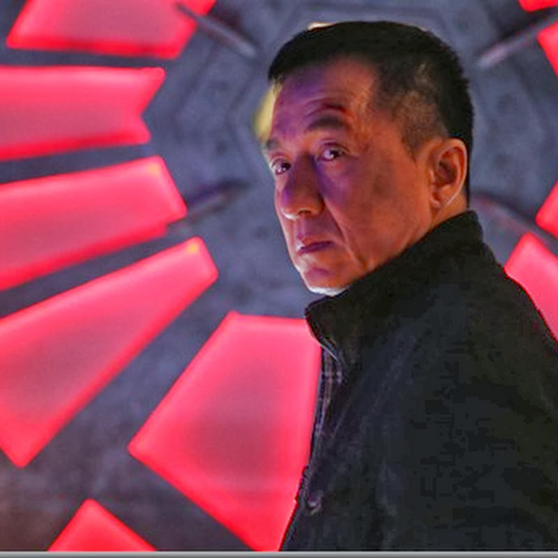 "Jackie Chan in Full Blast Action in ""Police Story"" Movie"
