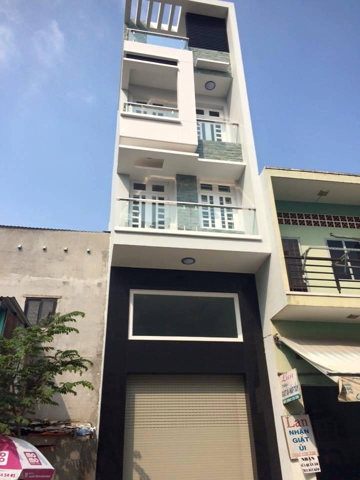 Bán nhà phố mặt tiền đường Nguyễn Hậu Quận Tân Phú.