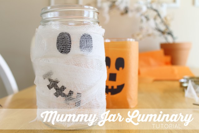 mummy jar luminary tutorial 01