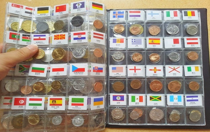 Bộ xu 120 quốc gia