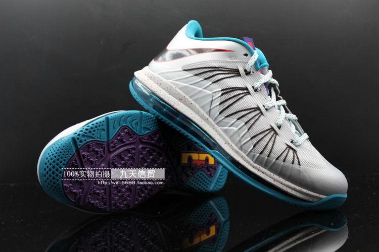 86ea42121160 Upcoming Nike Air Max LeBron X Akron Aeros 8211 New Photos .. Nike lebron  10 low ...