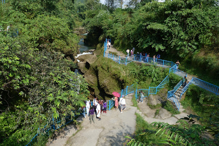 Obiective turistice Pokhara: Devi's Falls