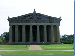 9504 Nashville, Tennessee - Discover Nashville Tour - downtown Nashville - Centennial Park - the Parthenon, a full-scale replica of the original Parthenon in Athens