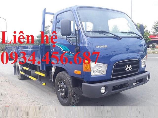 Đại lý bán xe tải 7 tấn Hyundai 110s thùng lửng