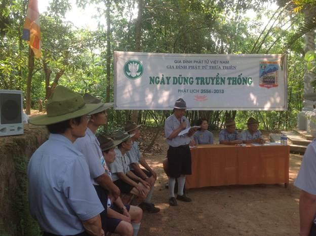 image010 BHD GĐPT Thừa Thiên tổ chức Trại Dũng năm 2013