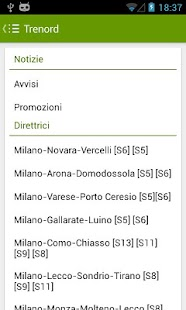 Trains Timetable Italy PRO - screenshot thumbnail