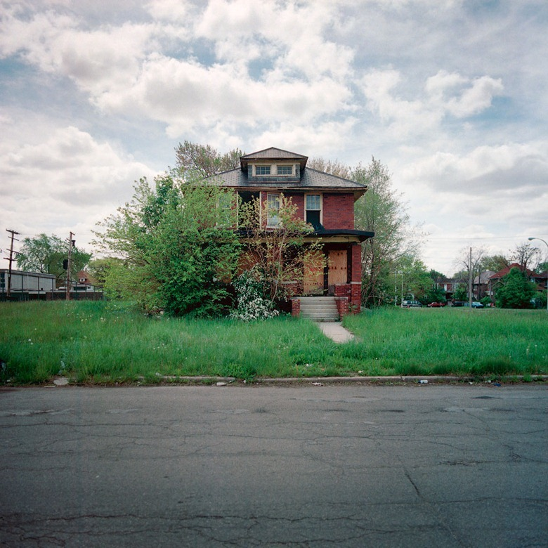 Abandoned Houses Of Detroit