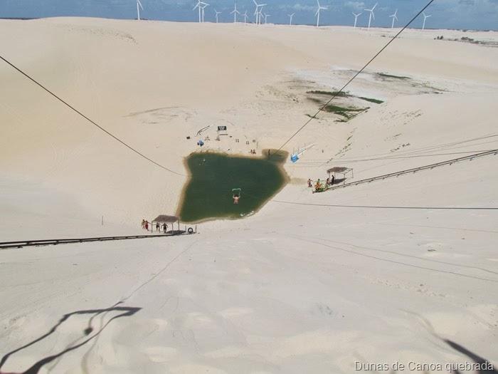 Oasis entre as dunas