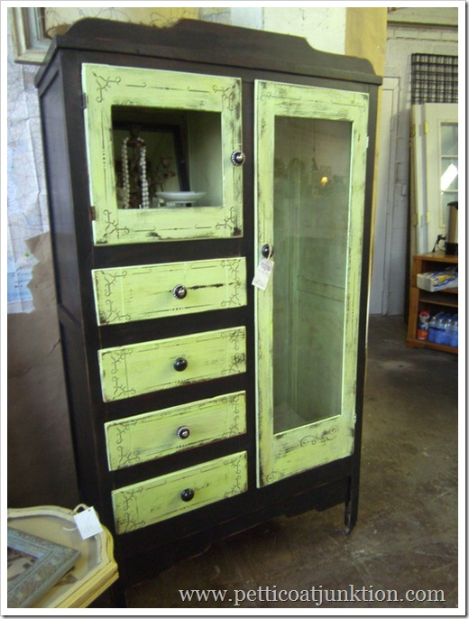 Painted and Stenciled Wardrobe, Petticoat Junktion