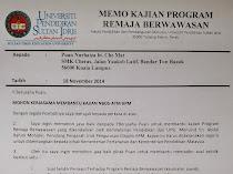 Kajian Program Remaja Wawasan: NBOS-ATM-KPM