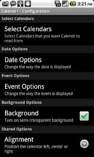 Calendr+- screenshot thumbnail